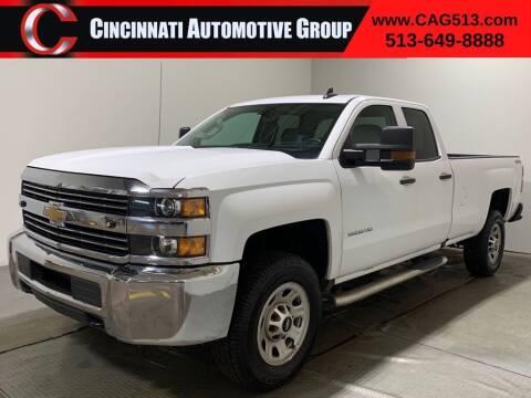 2016 Chevrolet Silverado 3500HD for sale at Cincinnati Automotive Group in Lebanon OH