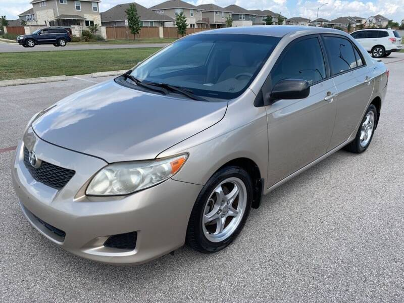 2009 Toyota Corolla for sale at Bells Auto Sales in Austin TX