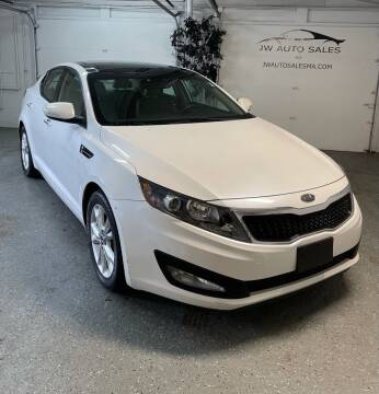 2011 Kia Optima for sale at Mass Auto Exchange in Framingham MA