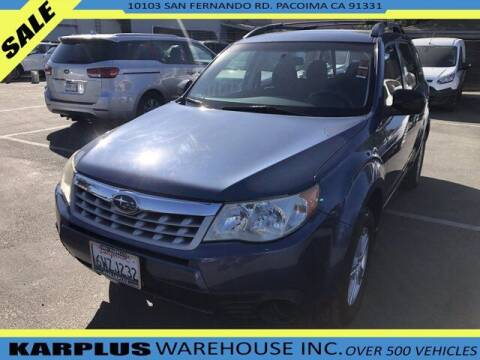 2012 Subaru Forester for sale at Karplus Warehouse in Pacoima CA