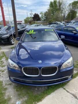 2012 BMW 7 Series for sale at Mastro Motors in Garden City MI