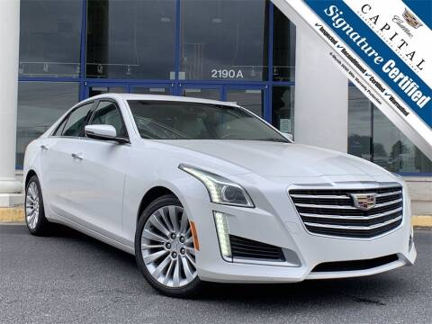 2017 Cadillac CTS for sale at Southern Auto Solutions - Capital Cadillac in Marietta GA