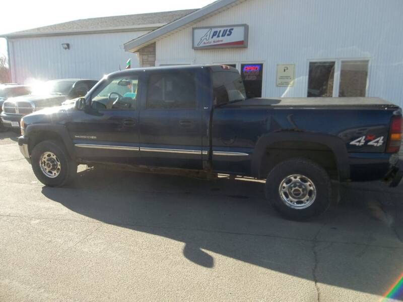 2002 GMC Sierra 2500HD for sale at A Plus Auto Sales/ - A Plus Auto Sales in Sioux Falls SD