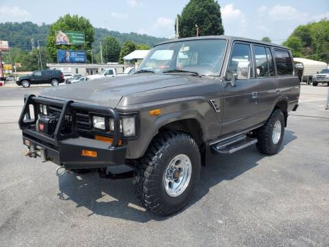 1988 Toyota Land Cruiser for sale at MCMANUS AUTO SALES in Knoxville TN