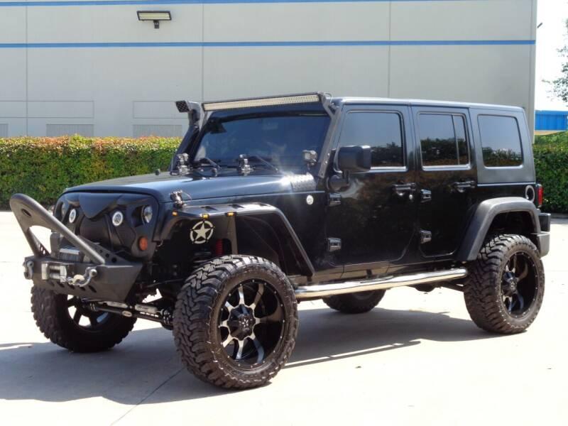 2010 Jeep Wrangler Unlimited for sale at Auto Starlight in Dallas TX