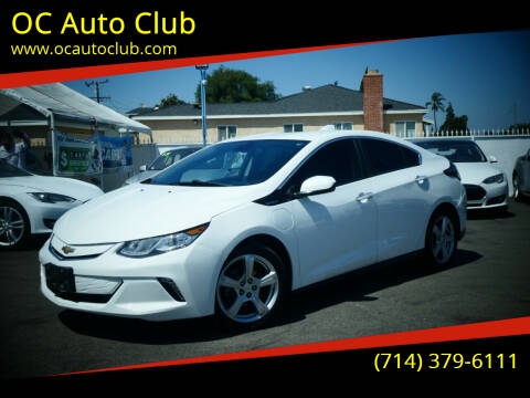 2017 Chevrolet Volt for sale at OC Auto Club in Midway City CA