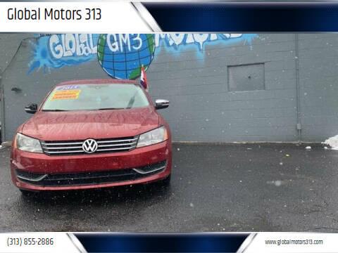 2015 Volkswagen Passat for sale at Global Motors 313 in Detroit MI