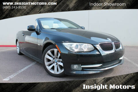 2012 BMW 3 Series for sale at Insight Motors in Tempe AZ
