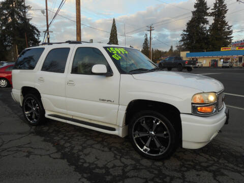 2003 GMC Yukon for sale at Lino's Autos Inc in Vancouver WA