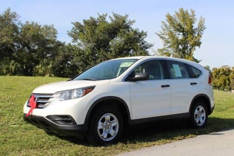 2014 Honda CR-V for sale at CHASE MOTOR in Miami FL
