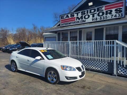 2010 Pontiac G6 for sale at EASTSIDE MOTORS in Tulsa OK