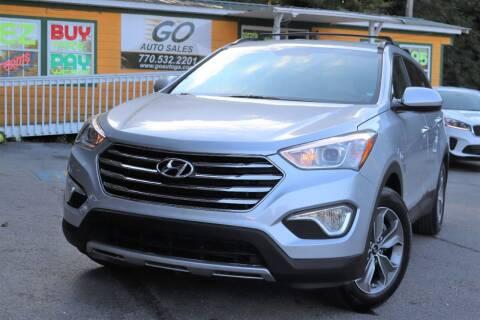 2016 Hyundai Santa Fe for sale at Go Auto Sales in Gainesville GA