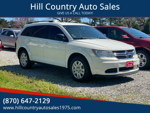 2017 Dodge Journey for sale at Hill Country Auto Sales in Maynard AR