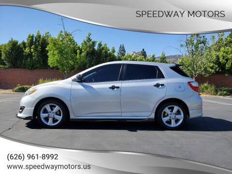 2009 Toyota Matrix for sale at Speedway Motors in Glendora CA