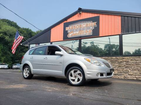 2005 Pontiac Vibe for sale at Harborcreek Auto Gallery in Harborcreek PA