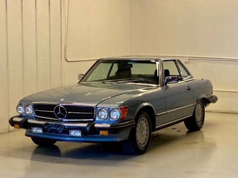 1986 Mercedes-Benz 560-Class for sale at Gallery Junction in Orange CA