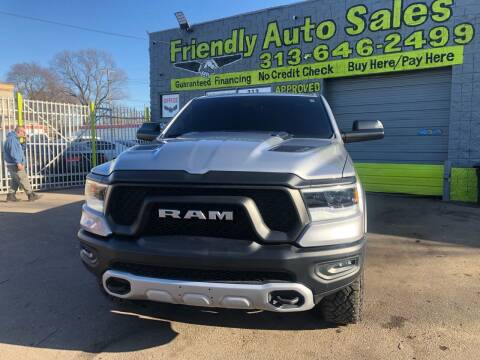 2020 RAM Ram Pickup 1500 for sale at Friendly Auto Sales in Detroit MI