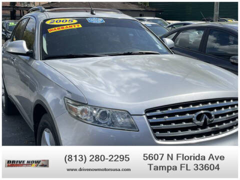 2005 Infiniti FX35 for sale at Drive Now Motors USA in Tampa FL