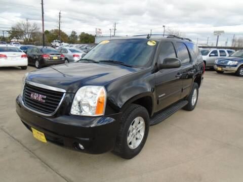 2014 GMC Yukon for sale at BAS MOTORS in Houston TX