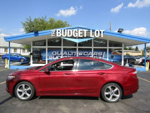 2015 Ford Fusion for sale at THE BUDGET LOT in Detroit MI