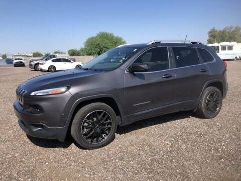 2018 Jeep Cherokee for sale at Curry's Cars Powered by Autohouse - AUTO HOUSE PHOENIX in Peoria AZ
