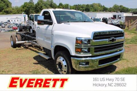 2021 Chevrolet Silverado 6500HD for sale at Everett Chevrolet Buick GMC in Hickory NC