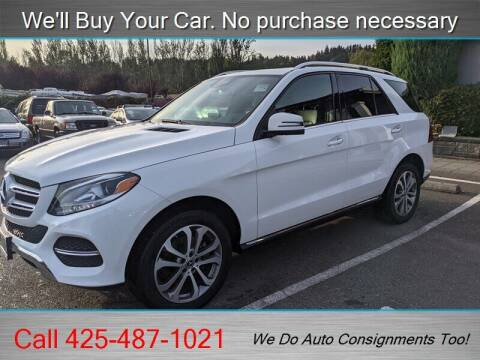 2018 Mercedes-Benz GLE for sale at Platinum Autos in Woodinville WA