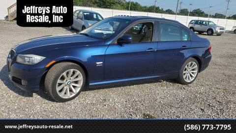 2011 BMW 3 Series for sale at Jeffreys Auto Resale, Inc in Clinton Township MI