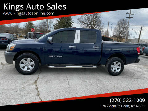 2008 Nissan Titan for sale at Kings Auto Sales in Cadiz KY