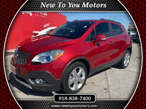 2016 Buick Encore for sale at New To You Motors in Tulsa OK