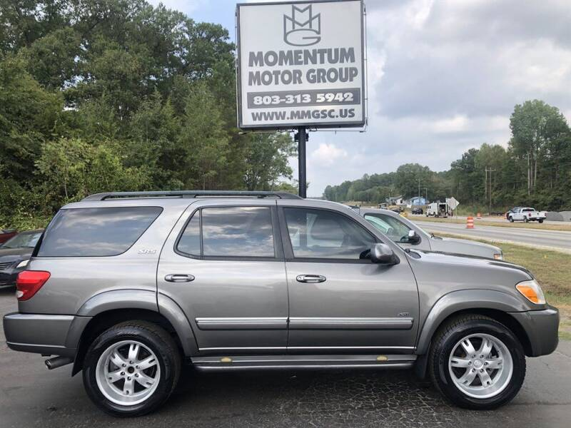2006 Toyota Sequoia for sale at Momentum Motor Group in Lancaster SC