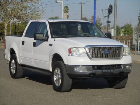 2004 Ford F-150 for sale at General Auto Sales Corp in Sacramento CA