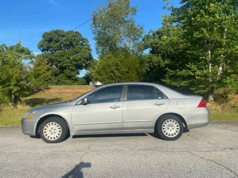 2006 Honda Accord for sale at Front Porch Motors Inc. in Conyers GA