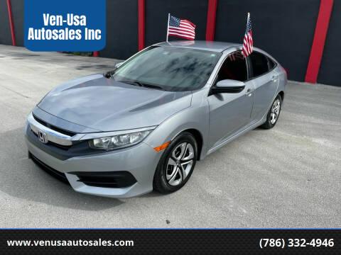 2018 Honda Civic for sale at Ven-Usa Autosales Inc in Miami FL