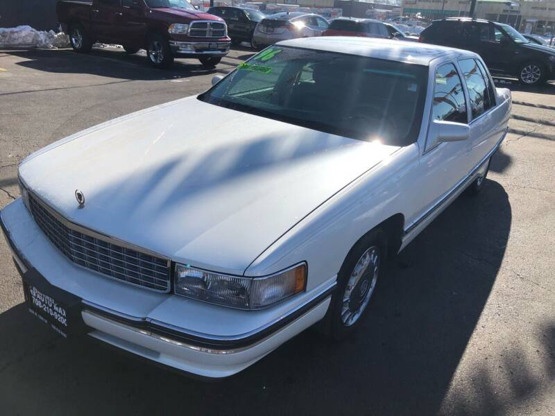 1996 Cadillac DeVille for sale at ROUTE 6 AUTOMAX in Markham IL