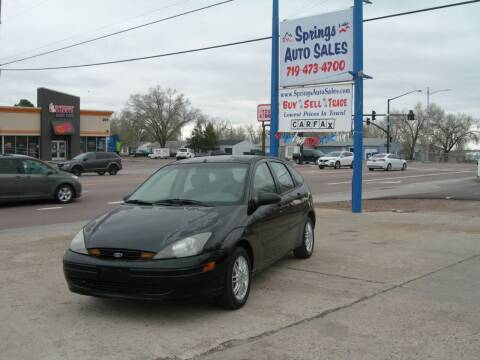 2003 Ford Focus for sale at Springs Auto Sales in Colorado Springs CO