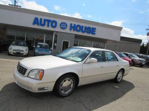2002 Cadillac DeVille for sale at Auto House Motors in Downers Grove IL