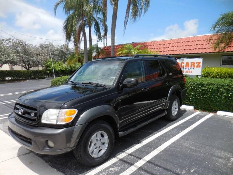 2004 Toyota Sequoia for sale at Uzdcarz Inc. in Pompano Beach FL