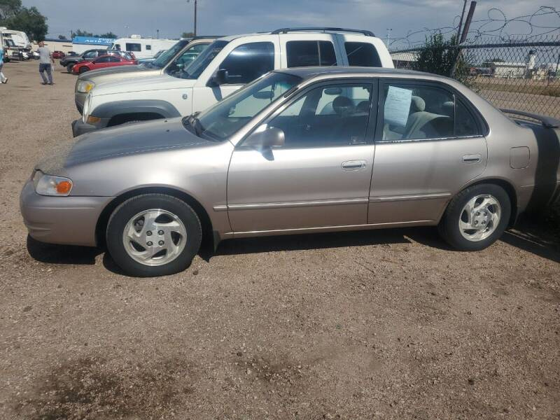 1998 Toyota Corolla for sale at PYRAMID MOTORS - Fountain Lot in Fountain CO