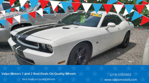 2009 Dodge Challenger for sale at Valpo Motors 1 and 2  Best Deals On Quality Wheels in Valparaiso IN