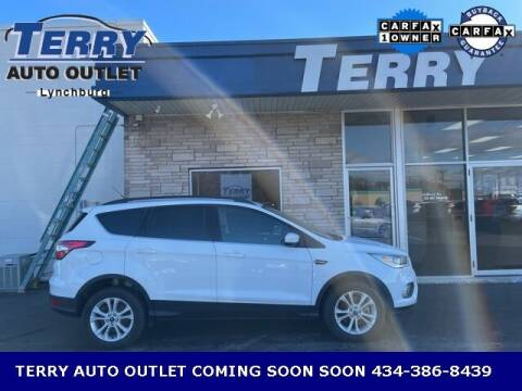 2017 Ford Escape for sale at Terry Auto Outlet in Lynchburg VA