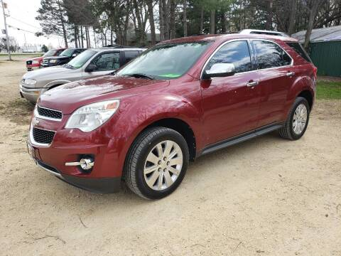 2011 Chevrolet Equinox for sale at Northwoods Auto & Truck Sales in Machesney Park IL