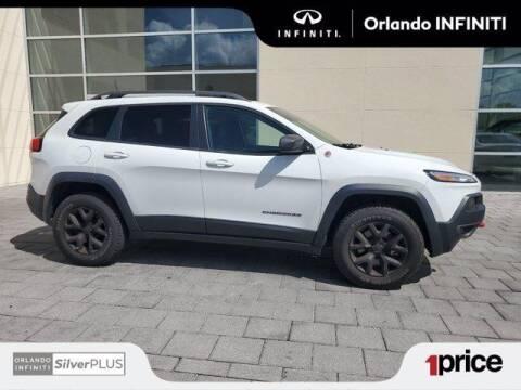 2017 Jeep Cherokee for sale at Orlando Infiniti in Orlando FL