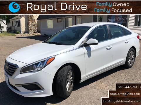 2016 Hyundai Sonata for sale at Royal Drive in Newport MN