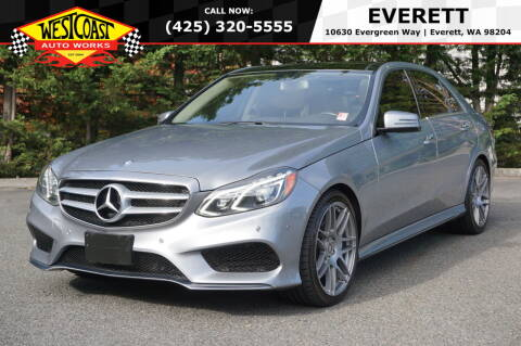 2014 Mercedes-Benz E-Class for sale at West Coast Auto Works in Edmonds WA