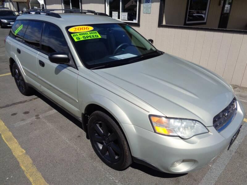 2006 Subaru Outback for sale at BBL Auto Sales in Yakima WA