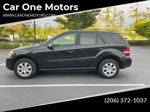 2007 Mercedes-Benz M-Class for sale at Car One Motors in Seattle WA