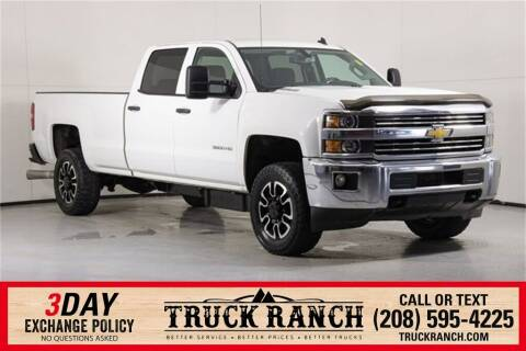 2015 Chevrolet Silverado 3500HD for sale at Truck Ranch in Twin Falls ID