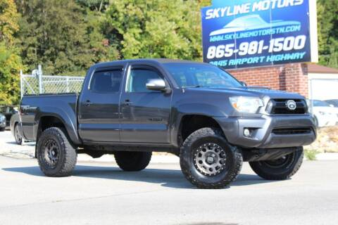 2015 Toyota Tacoma for sale at Skyline Motors in Louisville TN
