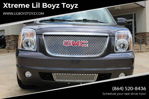 2010 GMC Yukon XL for sale at Xtreme Lil Boyz Toyz in Greenville SC